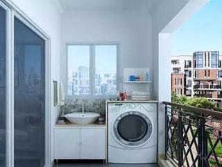 洗衣机到底适合摆放在什么位置?选对地方,才更方便,让家更宽敞