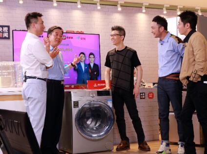 央视新闻联手国美卖货5.286亿 新型消费模式促家电业回暖