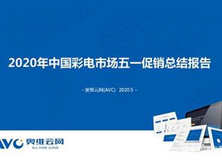 2020年中国彩电市场五一促销总结报告