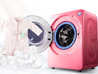 格兰仕3公斤迷你滚筒洗衣机  Ag+除菌呵护母婴健康生活