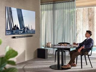 极简主义生活美学,三星8K电视99%屏占比的设计哲学