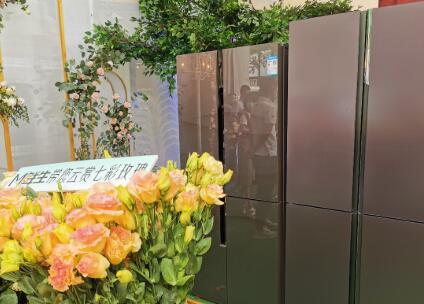 云赏七彩玫瑰 美菱M鲜生全面薄冰箱502WQ3S瑰丽上市