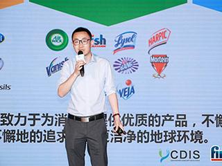 利洁时曼伦家化总经理助理兼家化市场部经理吴周俊——直播速记