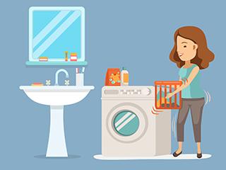 带烘干功能的洗衣机走俏