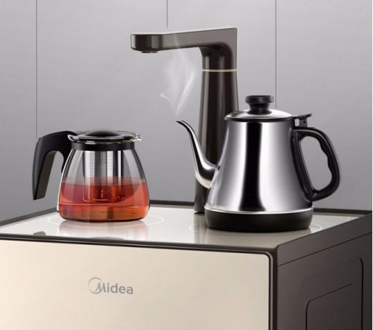 精工材质匠心打造 美的茶吧机让你坐享品质生活