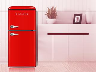 """618什么值得买?""""高品质、高颜值""""的格兰仕双门复古冰箱"""