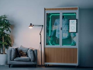 全新便携式设备 干洗衣物只需5分钟