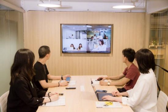 智慧办公新体验!荣耀智慧屏PROX优客工场智慧体验间正式上线