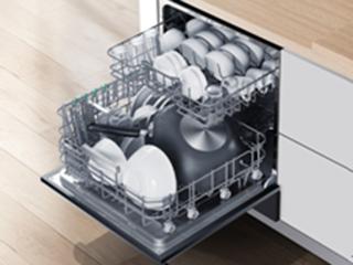 既要洗碗机又要消毒柜?这款洗碗机彻底解决橱柜小空间的窘境