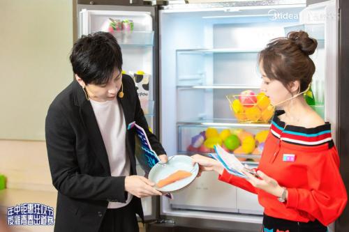 """明星大咖分享美的微晶冰箱""""保鲜秘籍"""" 美的冰箱实力助阵618"""