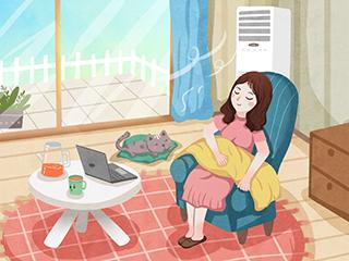 疫情下,夏季空调这样用:不低于26℃,门窗不要完全关闭