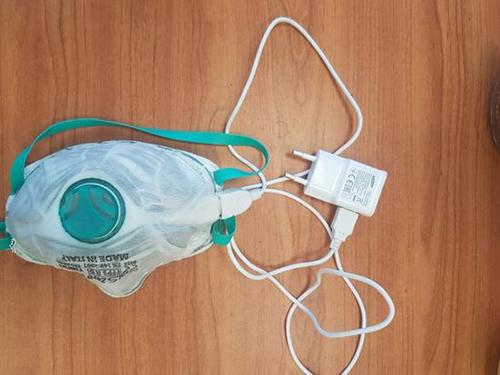 以色列发明充电消毒口罩 可重复使用