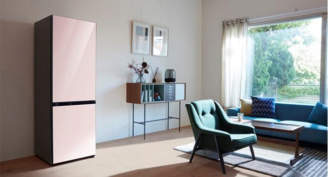 三星BESPOKE系列冰箱亮相成都!创新设计颠覆想象