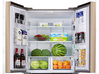 悠然渡夏,你需要大容量十字门冰箱的助力,拒绝反驳!