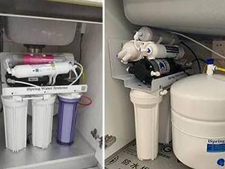 净水器过滤出来的水有气泡或发白现象,这是为什么?