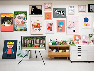 有意义的设计:The Frame 画壁电视创造独特艺术体验