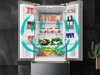 颜值实力派,澳柯玛新品328升大冰箱