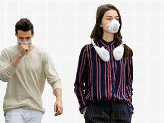 """""""边走边净化""""跟耳机一般大的空气净化器你见过吗?"""