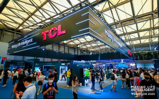"final【新闻稿】TCL UDE""秀肌肉"",8K大屏电视跨界""包场""玩转Chinajoy521"