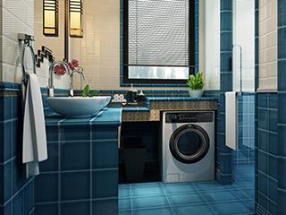 洗衣机为何这头进水那头排水?