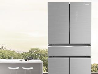 澳柯玛S+Pro冰箱,超大变温抽屉收纳百鲜