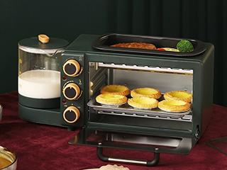 颜值爆表又实用的格兰仕多功能早餐机 你get了吗