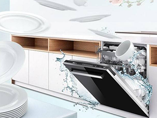 天生省水 健康无忧 你值得拥有洗碗机的美好守候