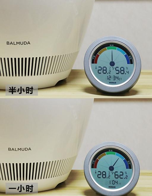 巴慕达湿度对比