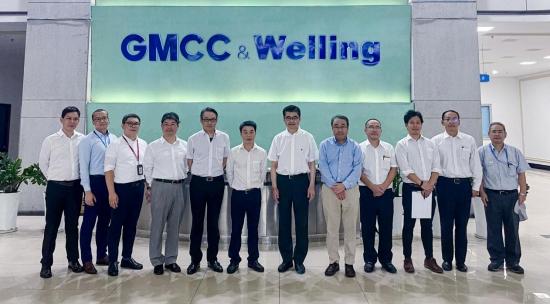 同力协契,奋楫笃行——松下电器率团到访GMCC&Welling