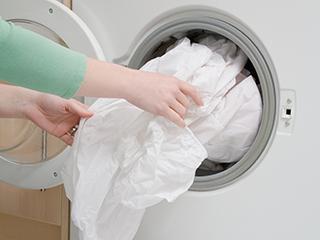 防霉菌 洗衣机不工作时要常开盖