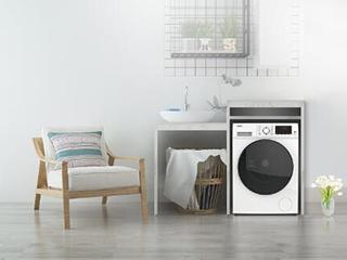 衣服不干有霉味?格兰仕贝加尔系列双变频洗烘一体机帮你健康换季!