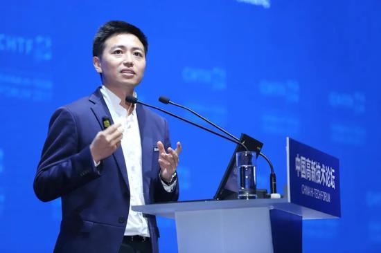 图:柔宇创始人刘自鸿