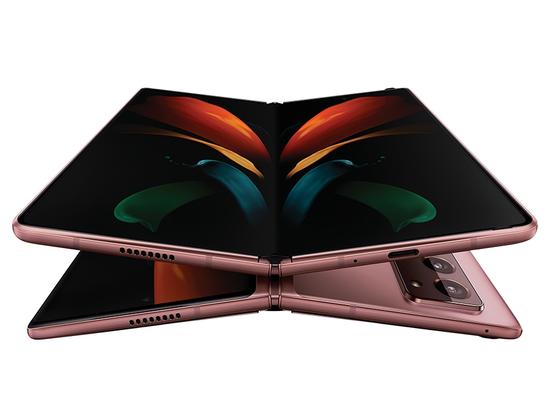 图:三星Galaxy Z Fold2 5G