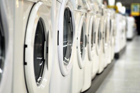 摄图网_300736058_banner_超市里排着新的洗衣机(企业商用)