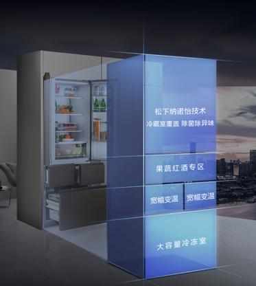 松下冰箱即将发布新品,厨居一体化、精细空间分区或成关键词
