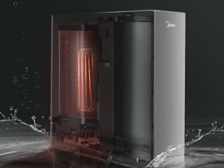 集净饮和速热功能于一身,这款净水机实现多档水温调节