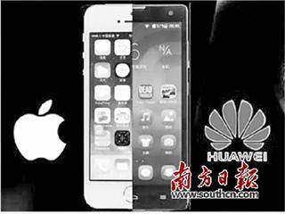 """进击高端市场, 华为苹果正面""""互刚"""""""