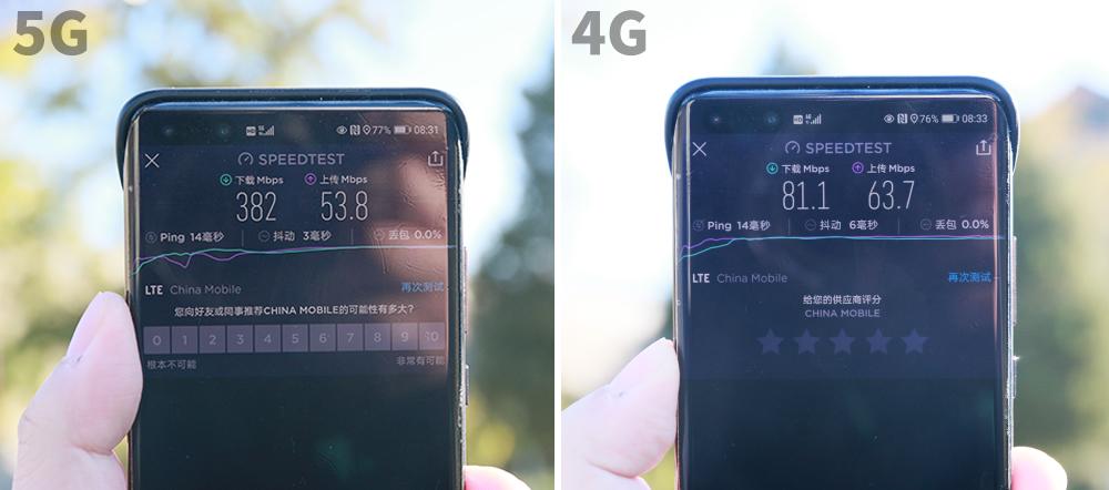 5G比4G到底快不快?8个不同地点实测结果出炉