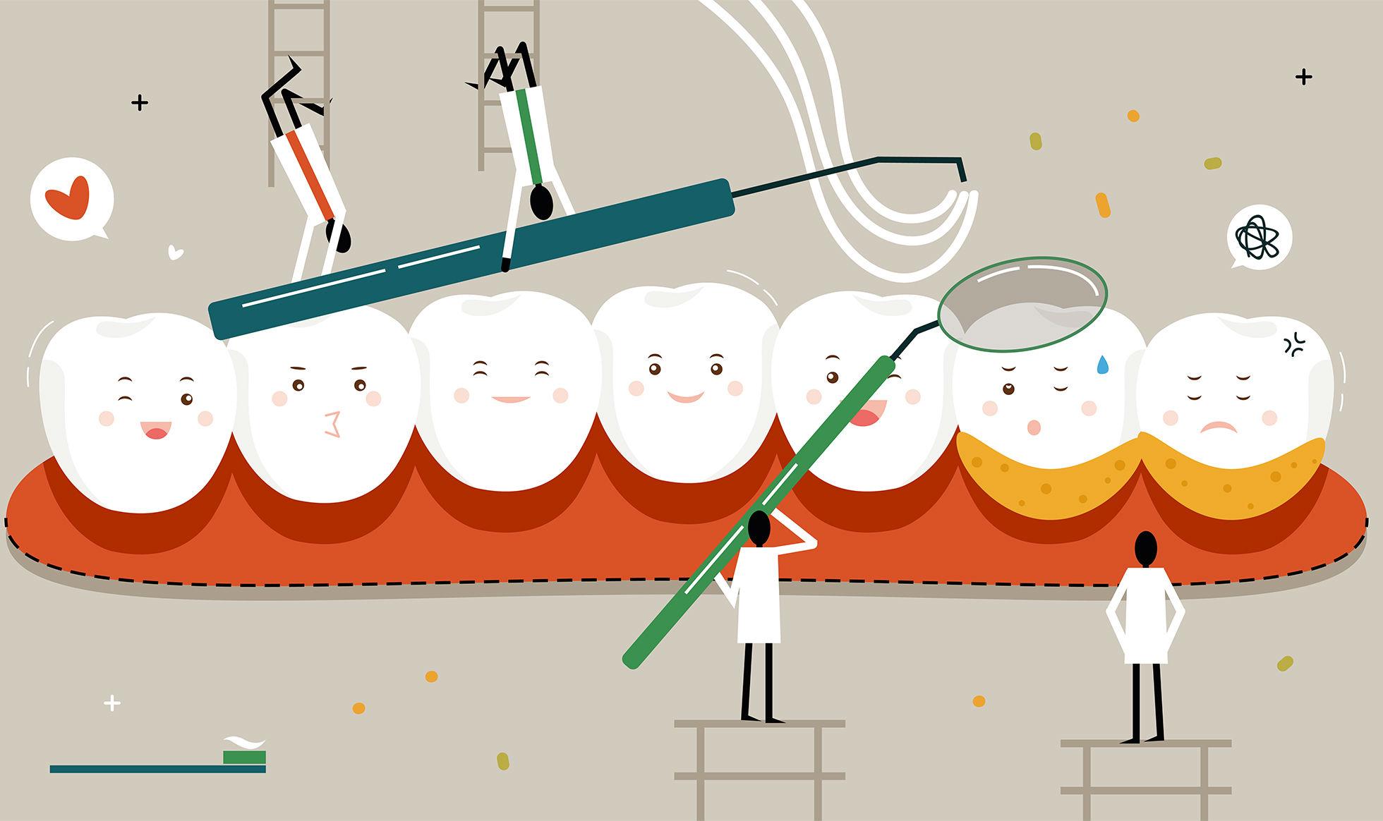 电动牙刷和冲牙器我都要:口腔清洁马虎不得