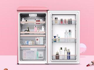 囤货化妆护肤品 或许你需要一台美妆冰箱