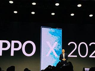 OPPO推出卷轴屏概念机:屏幕可伸展 实现几乎零折痕