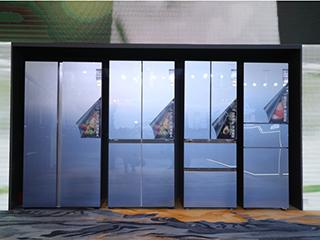 自由嵌入 精致分储,澳柯玛推出行业超薄对开门冰箱