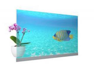 松下推出首款透明商用OLED显示器