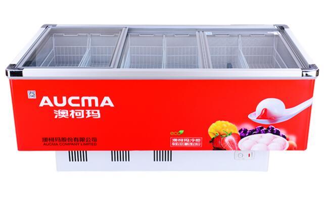 开店保存食材,澳柯玛冷藏冷冻陈列展示柜全搞定