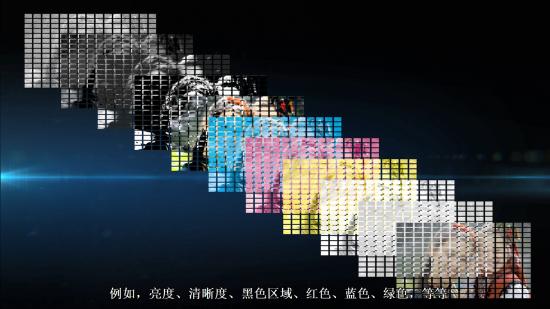 XR认知芯片会将图像进行精细分割