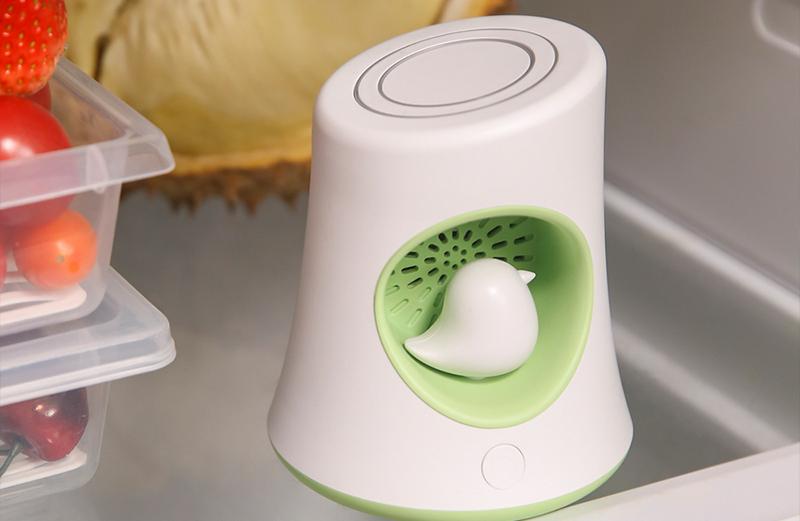 冰箱除味有新招! ICESWEET除味净化器,除味更杀菌