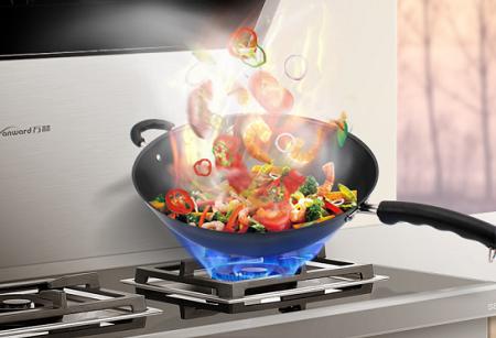 想做精致的开放式厨房吗? 选万和轻奢S8集成灶准没错!