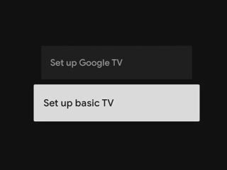 """Google TV引入""""基本电视""""模式 剥离电视的智能功能"""