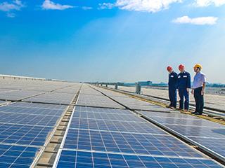 """助力""""碳达峰""""""""碳中和""""  格兰仕光伏发电项目5年供应清洁能源3亿千瓦时"""