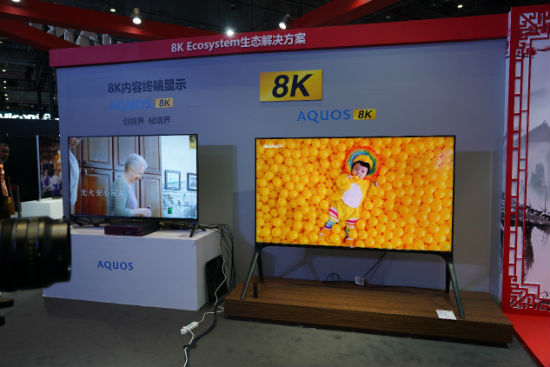 巨屏新品 夏普全尺寸实力派电视